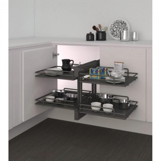 panier coulissant 839 compact 2 pour meuble d angle ellite