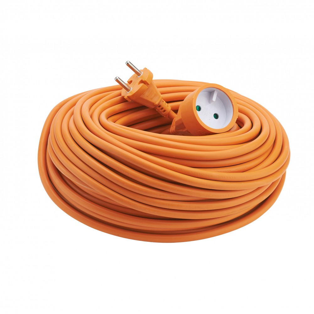 rallonge electrique jardin orange ho5vv f debflex sur bricozor