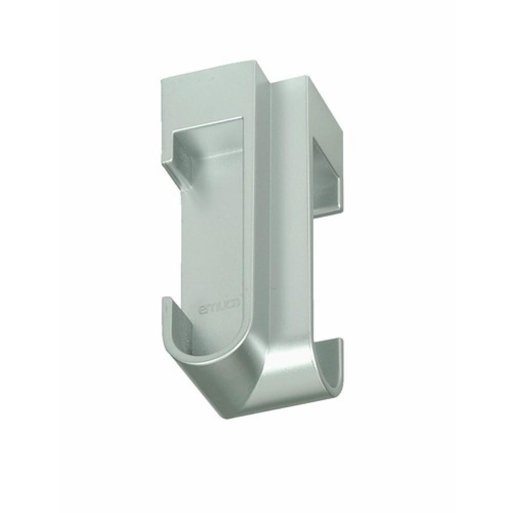 support d angle plastique pour tube de penderie 30x15