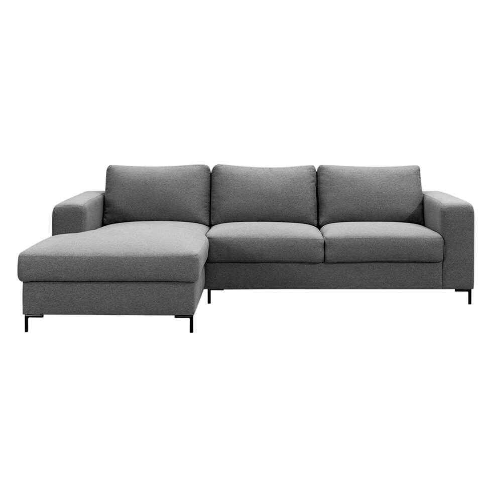 canape tom avec chaise longue medium gris 90