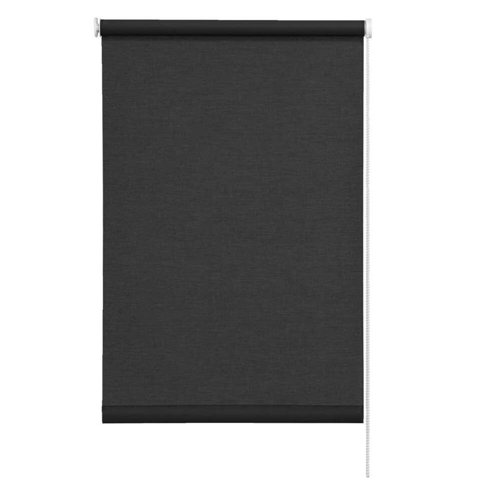 store enrouleur translucide noir 180x250 cm