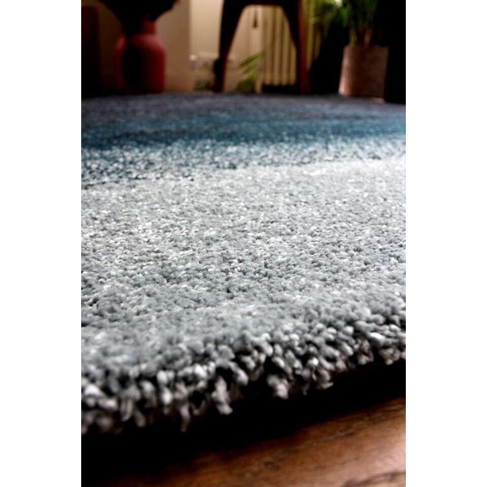 art for kids tapis ombre bleu 120x170 cm