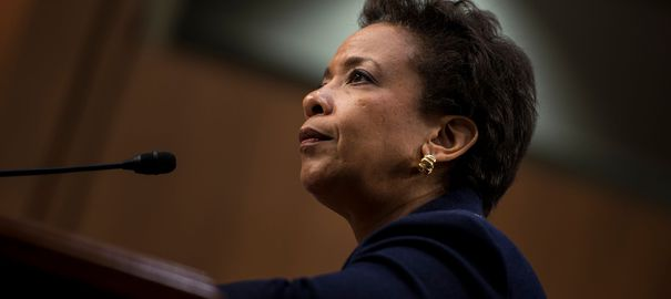 La procureure Loretta Lynch le 28 janvier 2015 à Washington