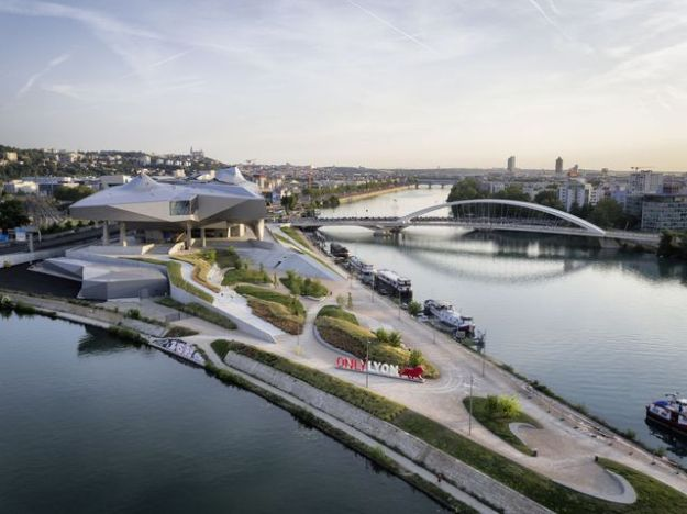 The museum of Confluences, where the river joins the river ...