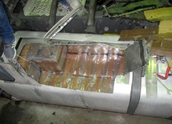 Почти полтонны гашиша нашли в топливном баке грузовика quotс
