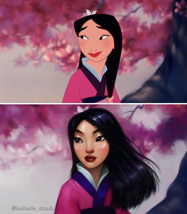 Что, если самым знаменитым персонажам мультфильмов ...