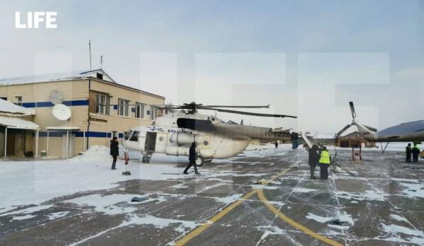 Лайф публикует фото повреждений вертолёта, врезавшегося в ...