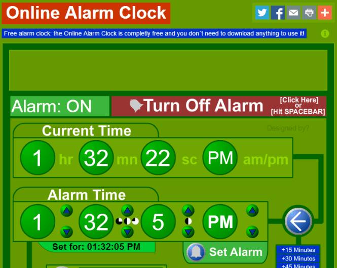 Best Free Online Alarm Clock Websites