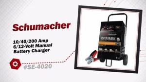 Schumacher 1040200 Amp 612Volt Manual Battery Charger SE4020 » Advance Auto Parts Video