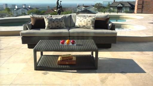 Portofino Signature 2-piece Sofa Sectional And Coffee