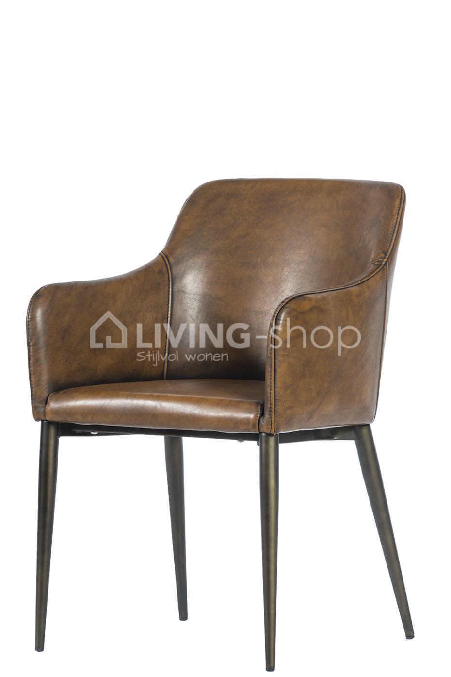 vintage pu chaise salle a manger avec