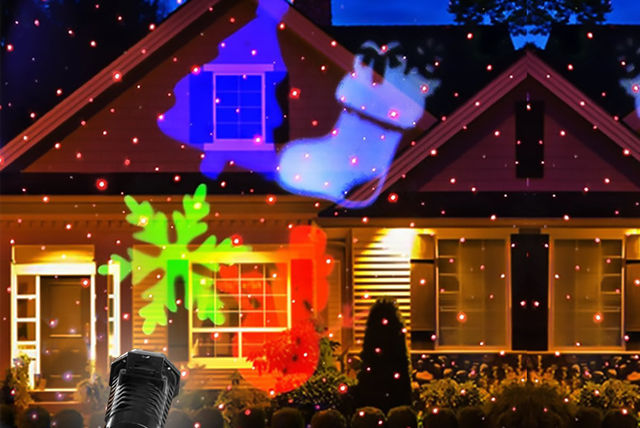 Motion Christmas Lights