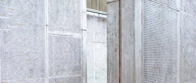 """Resultado de imagen de mur des déportés"""""""