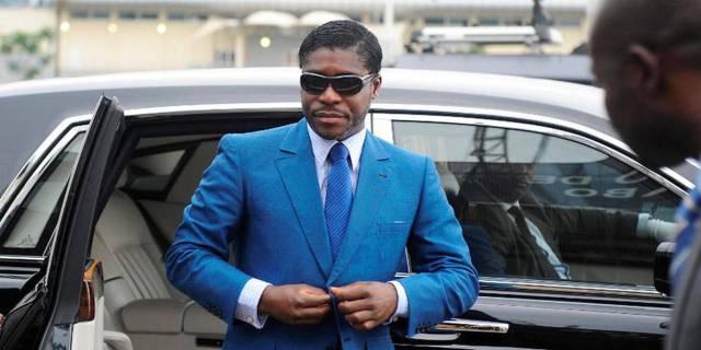 Obiang nargue la justice au volant de l'un de ses bolides - Le Point