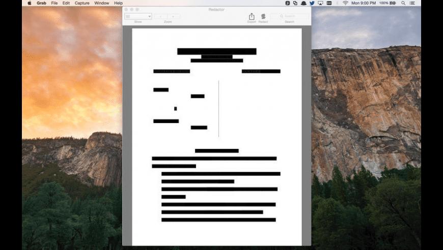 Redactor for Mac - Free Download Version 1.1.3   MacUpdate