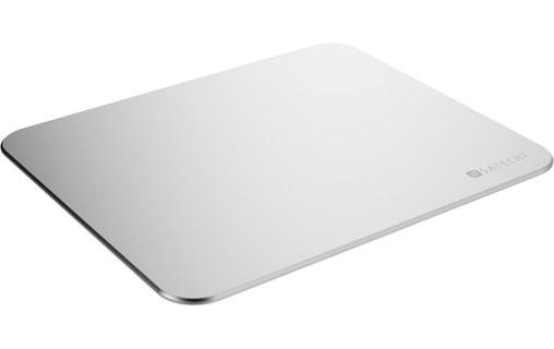 satechi mouse pad argent tapis de souris en aluminium