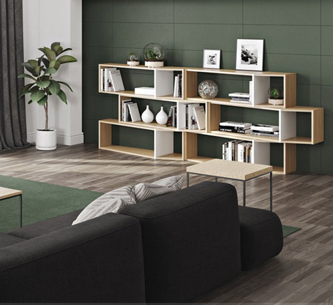 Librerie e mensole per il salotto homcom: Librerie Mensole La Nostra Selezione