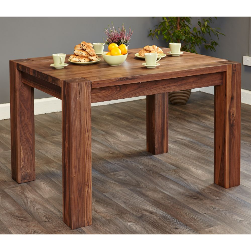Shiro Solid Walnut Furniture Small Dining Table Sale