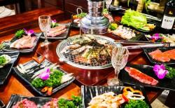Thưởng thức món ăn ngon trong không gian lãng mạn tại nhà hàng buffet nướng Hà Nội