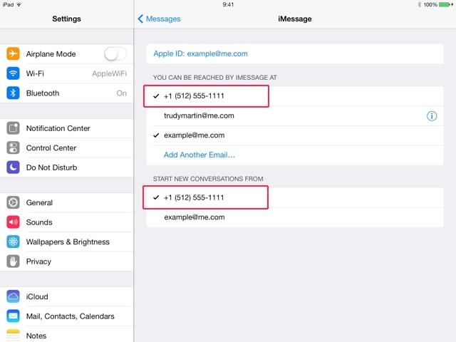 Tin nhắn đồng bộ giữa các thiết bị dùng chung tài khoản