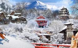 Đến Nhật Bản trải nghiệm mùa đông lạnh giá