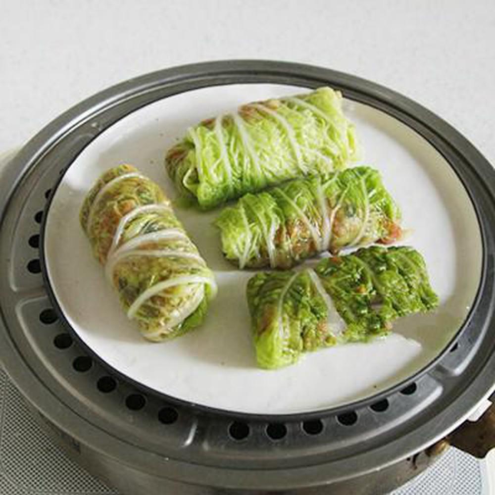 Món ngon từ cải thảo - Cải thảo cuộn thịt hấp