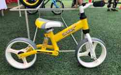 Xe tập đi cần là loại xe thăng bằng 2 bánh, có thiết kế khoa học