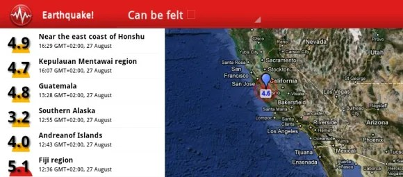 3 Apps To Alert You Of Natural Disasters [Android]