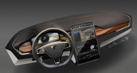 Are Teslas Secure? How Hackers Can Attack Connected Cars tesla touchscreen