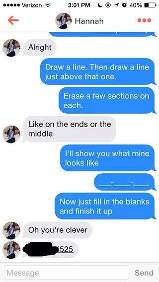 Icebreaker chat up lines