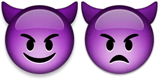 devil imp emoji emoticon