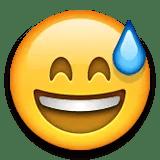 sweating emoji emoticon