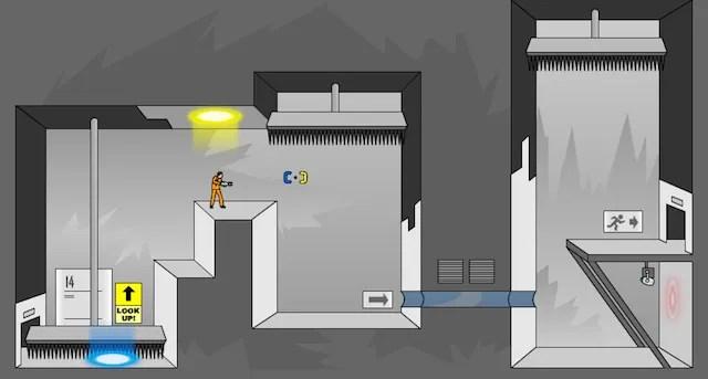 portal flash game