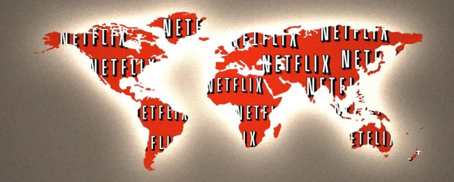 Netflix logo in all countries of the world