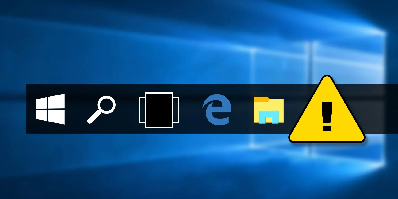 Fix-barra delle applicazioni-problemi-windows-10