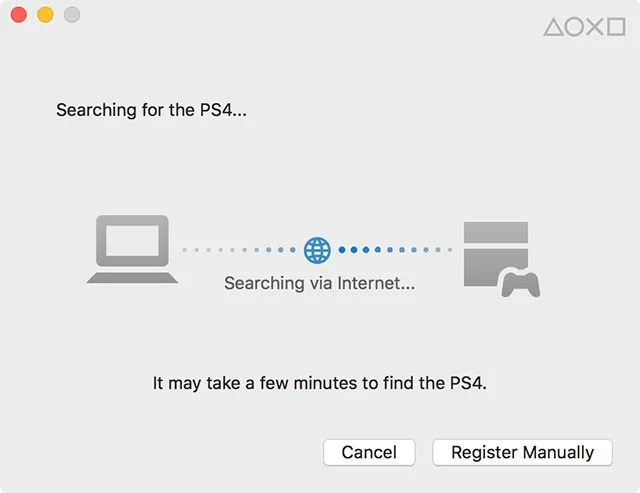 Detect your PS4 from your PC with PS4 Remote Play
