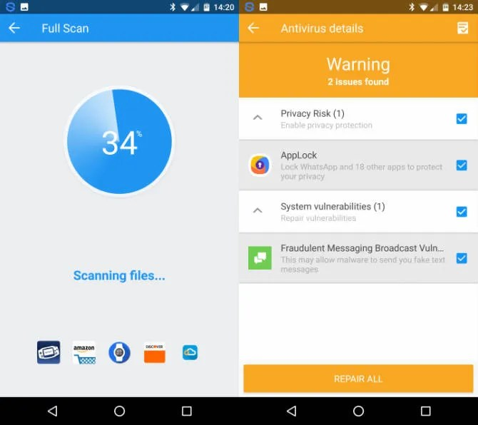 Best Security And Cleaning App Android