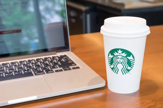Startbucks WiFi gratuito