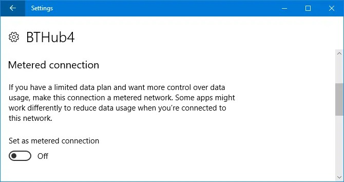 Windows 10-метровое соединение