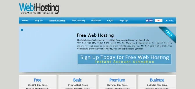 Web Free Hosting