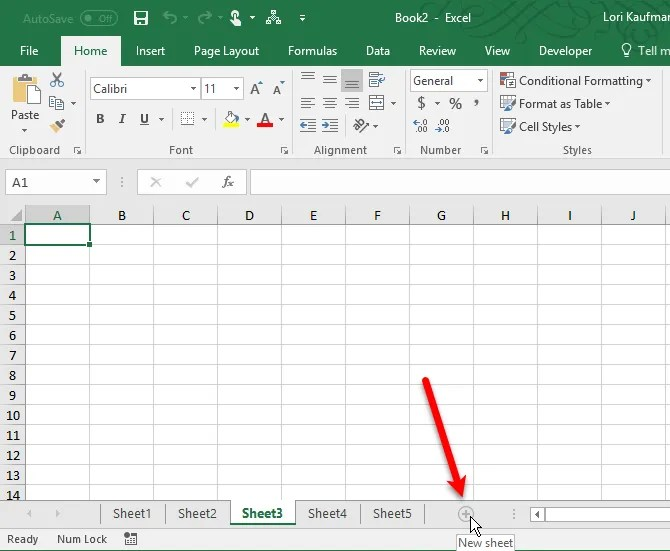 How To Work With Worksheet Tabs In Excel