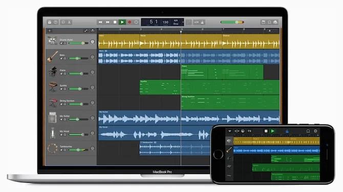 GarageBand music editing software - The Internet Tips