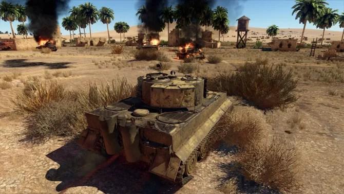 Скриншот танка