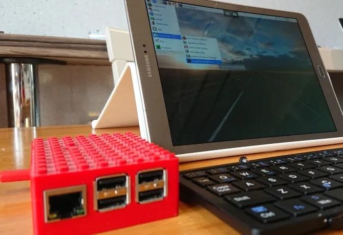 Используйте планшет в качестве дисплея Raspberry Pi