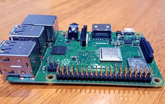 Il Raspberry Pi 3 B +