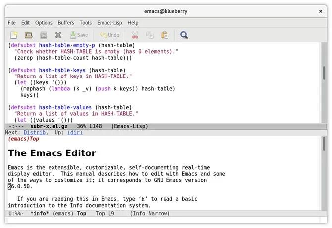 Emacs текстовый редактор Mac