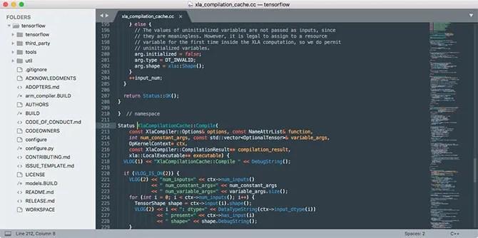 Sublime Text 3 лучший текстовый редактор HTML для Mac