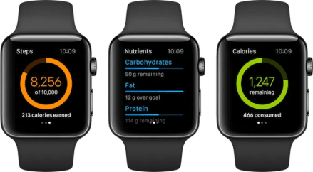 Apple Watch Fitness Apps MyFitnessPal