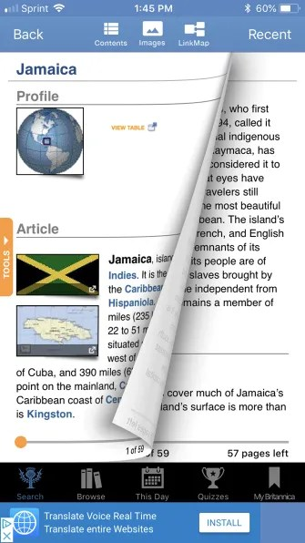 EncyclopediaBritannicaLookup iPhone 335x596 - The 12 Best Reference Apps to Look Up Anything While On the Go
