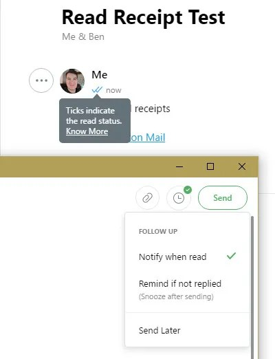 Newton Read Receipts - Try Newton Mail and Love Email Again